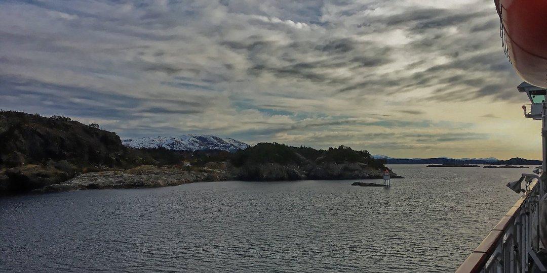 Llegando al Herdlefjorden