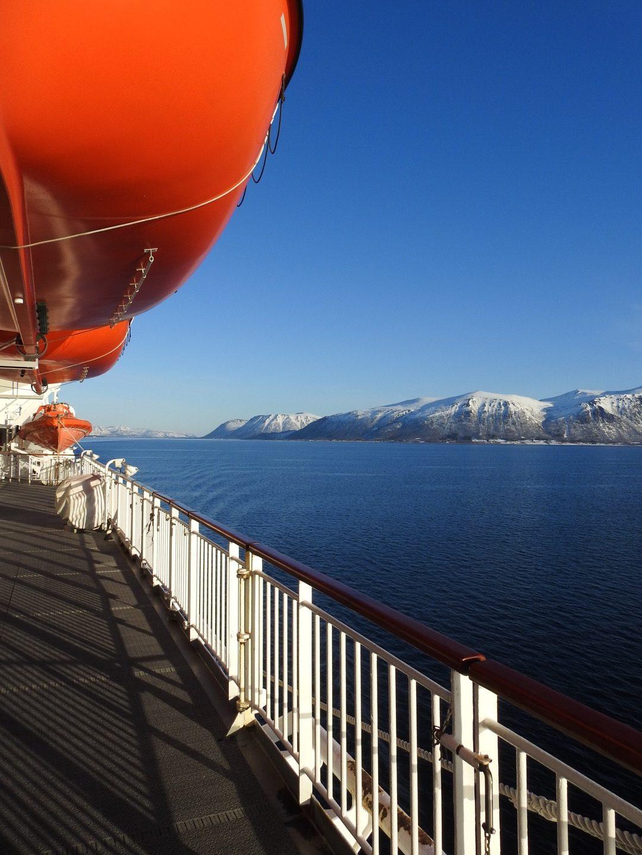 Sortlandsundet desde el Finnmarken