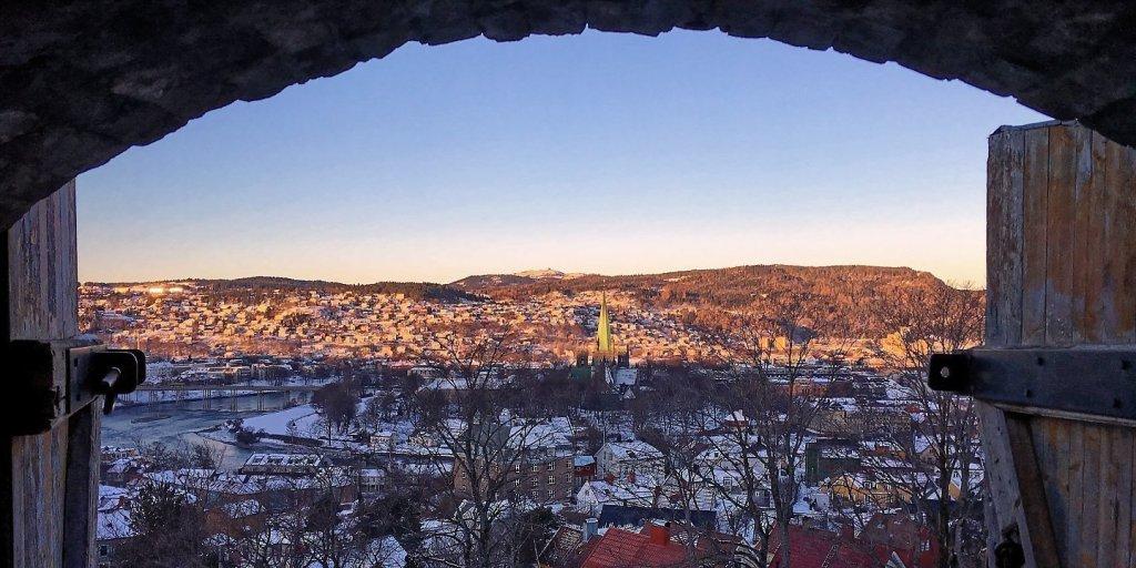 Trondheim desde Kristiansten