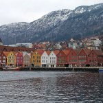 Dos paseos por Bryggen