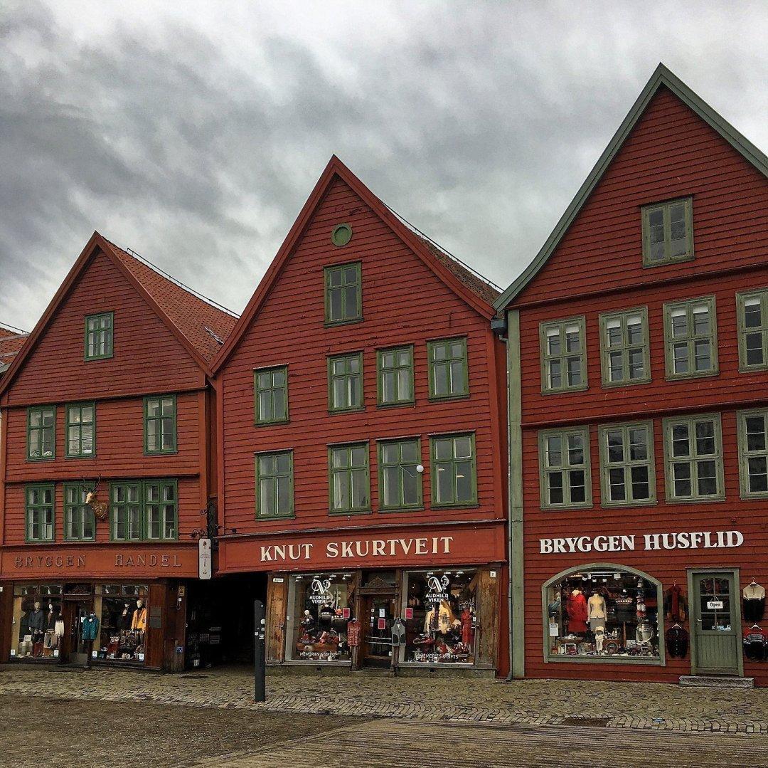 Casas de Bryggen