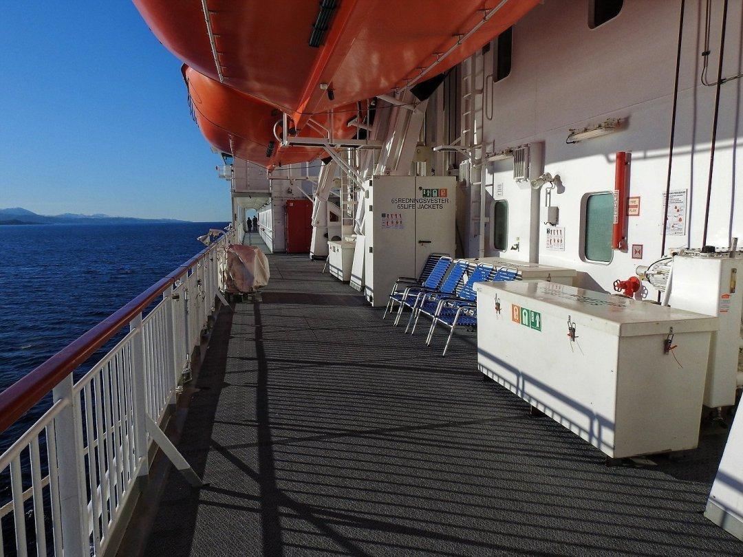 Promenade de la cubierta 5