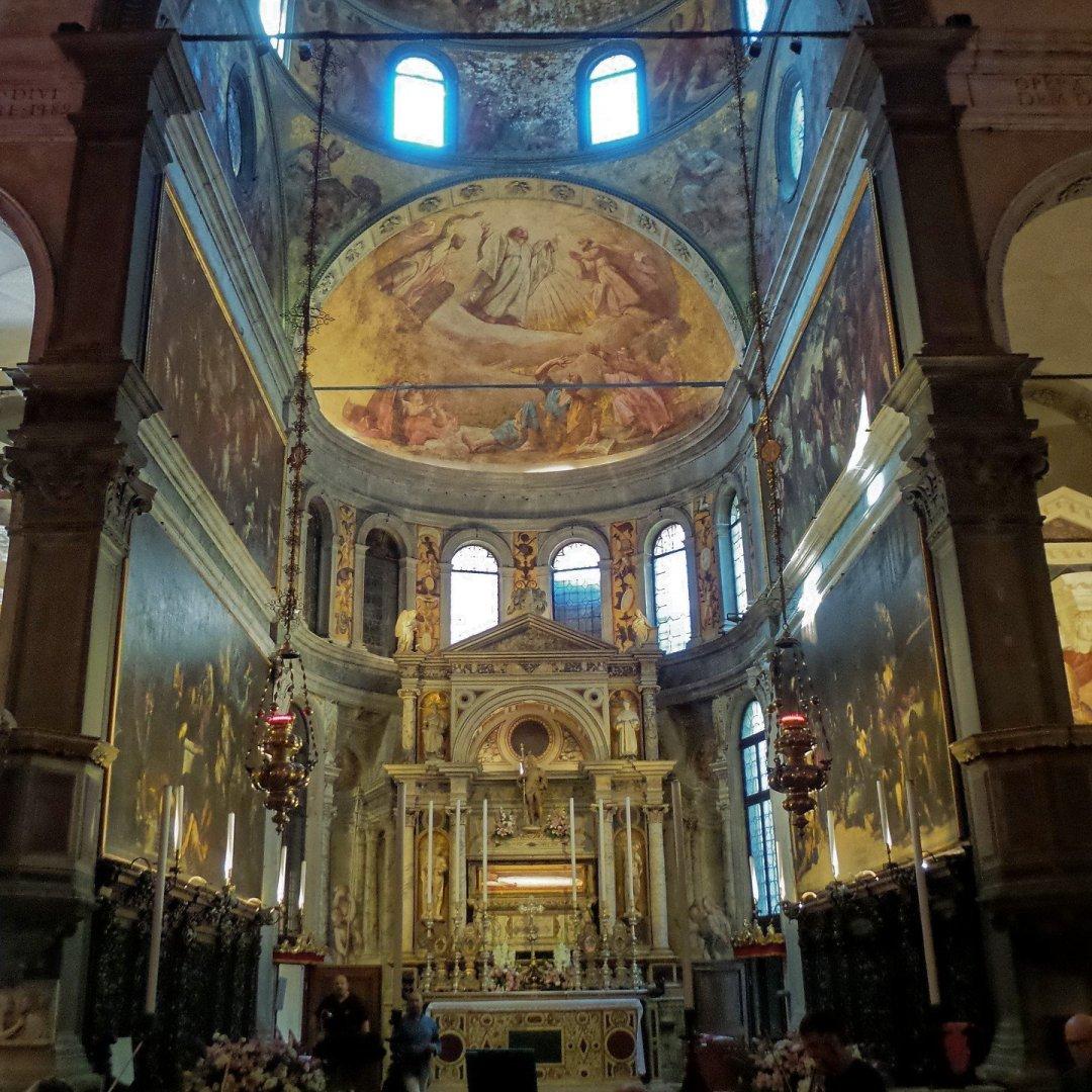Interior de San Rocco