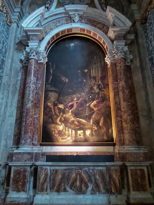 Martirio de San Lorenzo, de Tiziano
