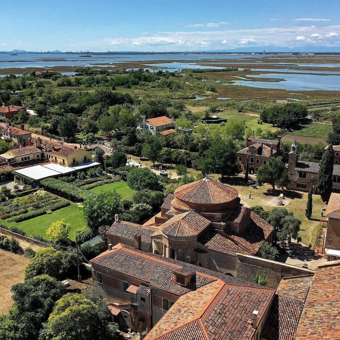 Torcello y la laguna desde el campanario