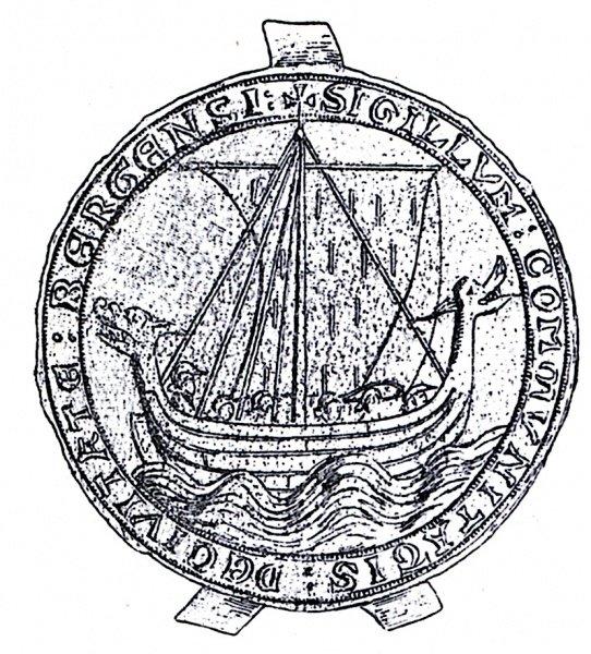 Sello de la ciudad de Bergen (c. 1293)