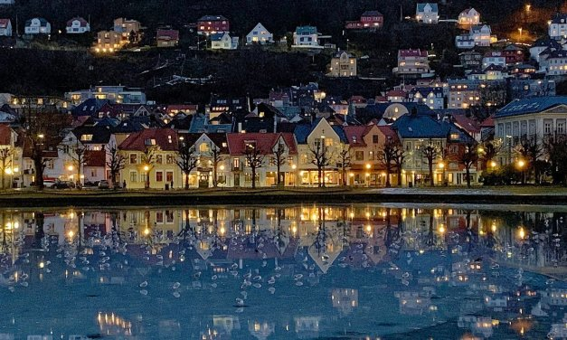 Tarde de invierno en Bergen