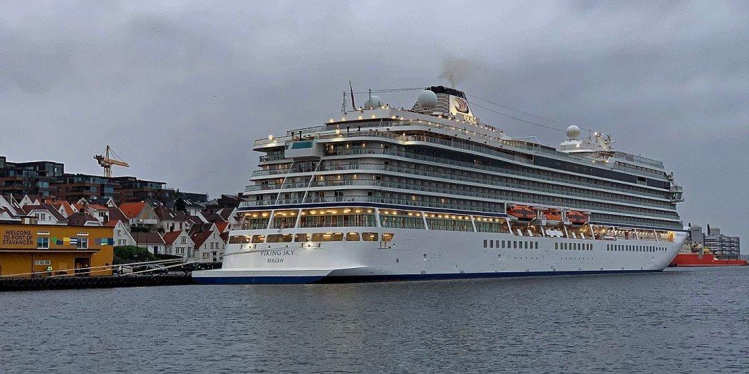 El Viking Sky en Stavanger