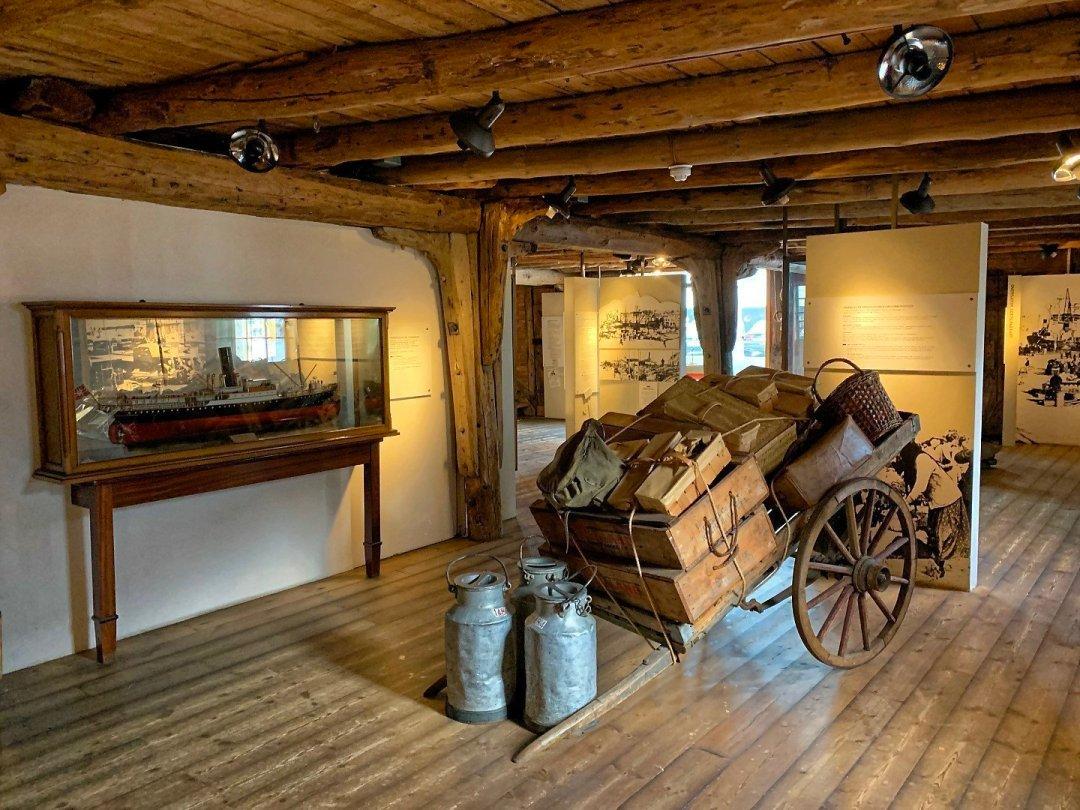 Interior del Museo Marítimo de Stavanger