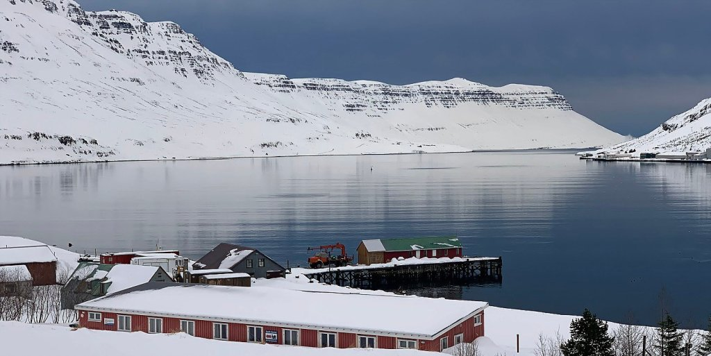 Muelle de Hafaldan, en el Seyðisfjörður