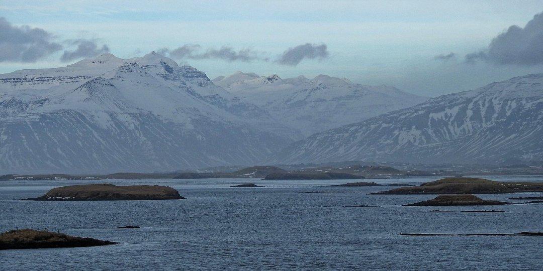 Hornafjördur desde el mirador de Ósland
