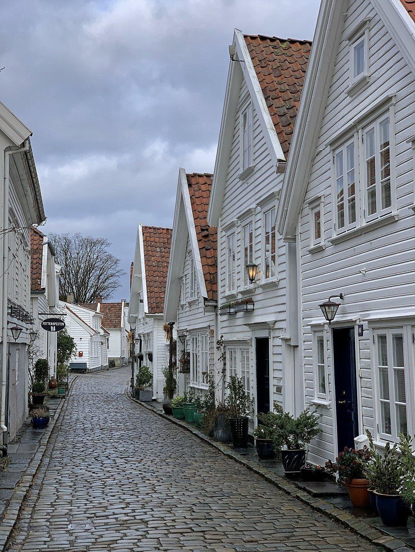 Øvre Strandgate, en Gamle Stavanger