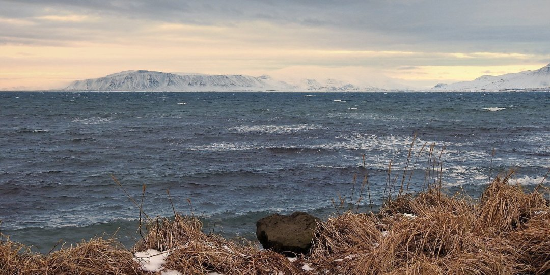 Península de Akranes desde Reikiavik