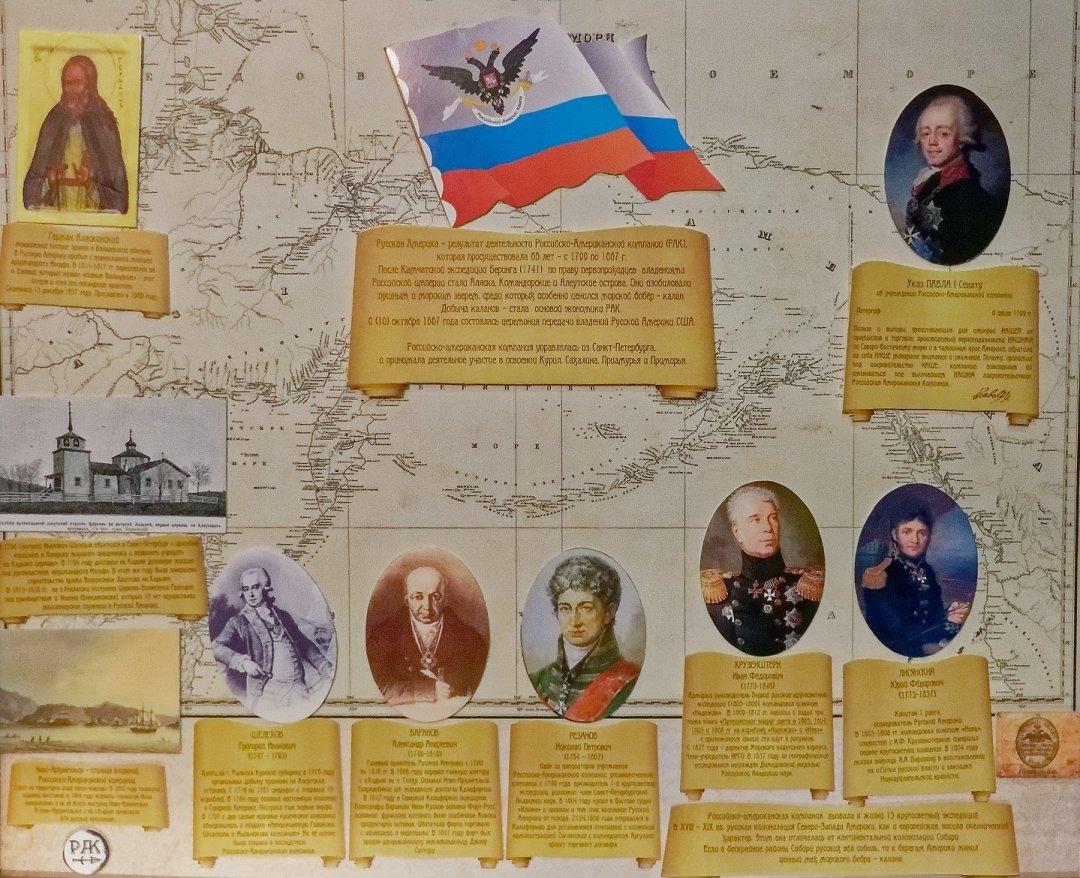 Los rusos en el Pacífico