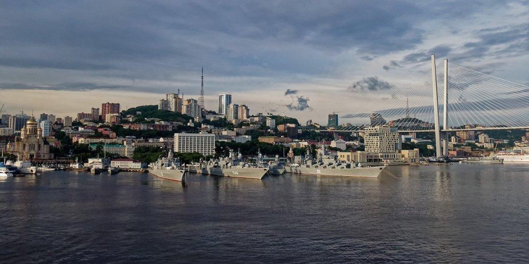 Zarpando de Vladivostok