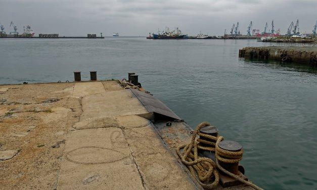 En el puerto de Korsakov