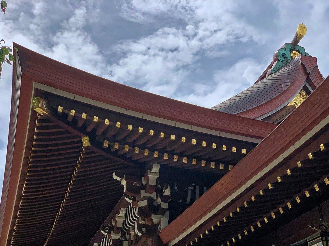 Tejado de Meiji Jingū