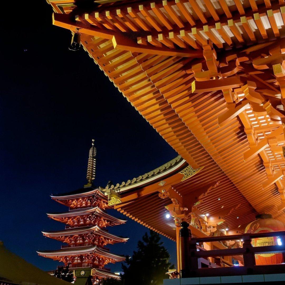 Kannon-do y Pagoda de Cinco Pisos