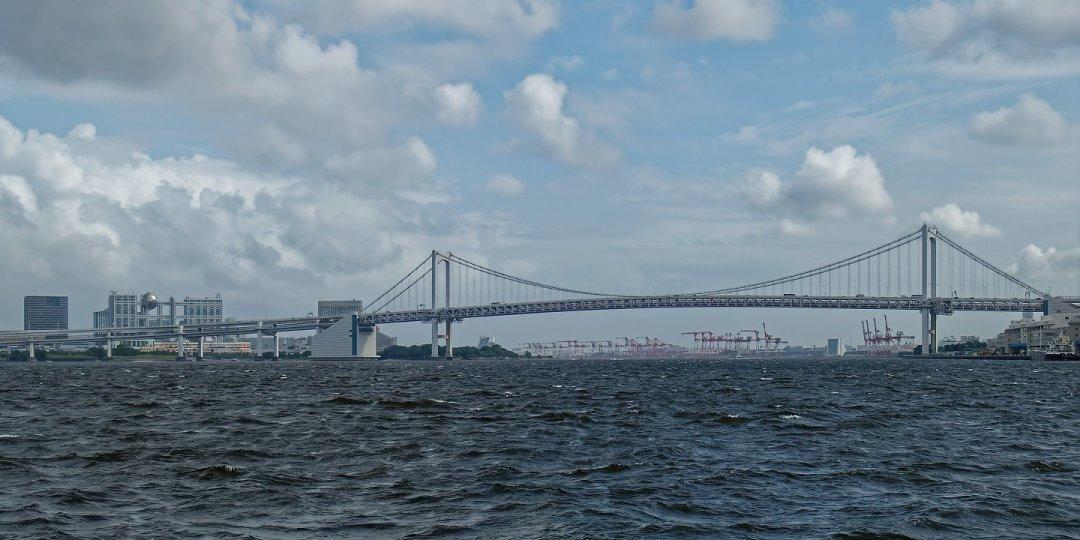Odaiba y el puente Rainbow