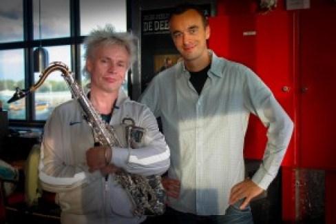 Eigenaar Jurjen de Quelerij met Boris. Photo: Ruud Roelofsen