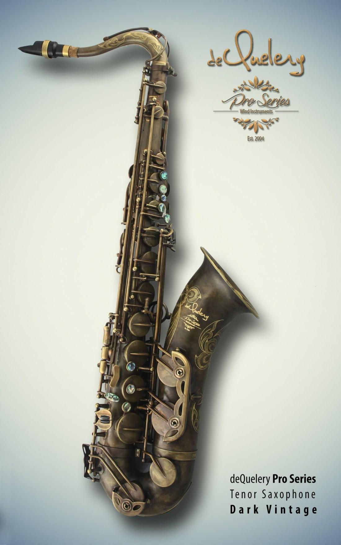 dequelery pro tenor dark vintage