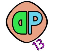 Logo DQP 13 (grande)