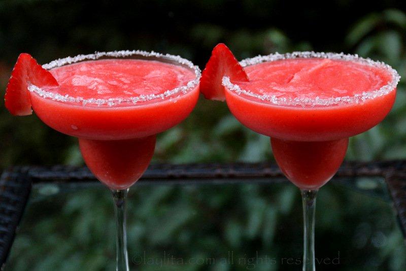 Receta refrescante: El Daiquiri de Fresas