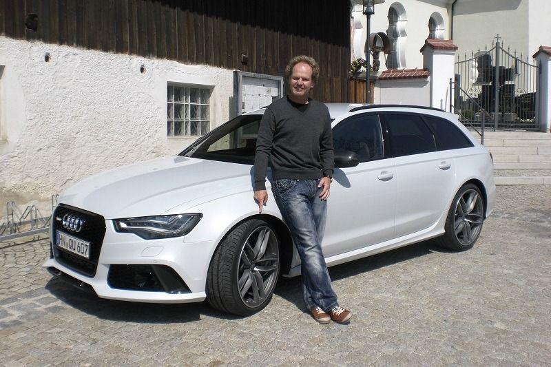 Audi RS6 Avant - Praktischer Rennwagen für betuchte ...