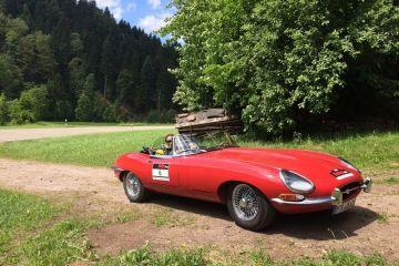 Rallye one! - Im Jaguar E-Type aus 1961 den Schwarzwald rauf