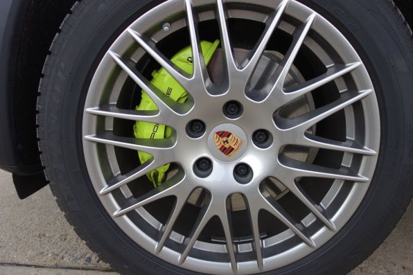 Cayenne S E-Hybrid - Bremssattel Acidgreen