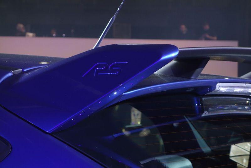 Ford Focus RS 2015 Spoiler