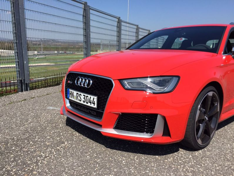 Audi RS3 Front Seite