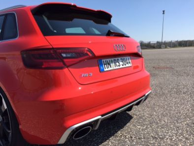 Audi RS3 Heck
