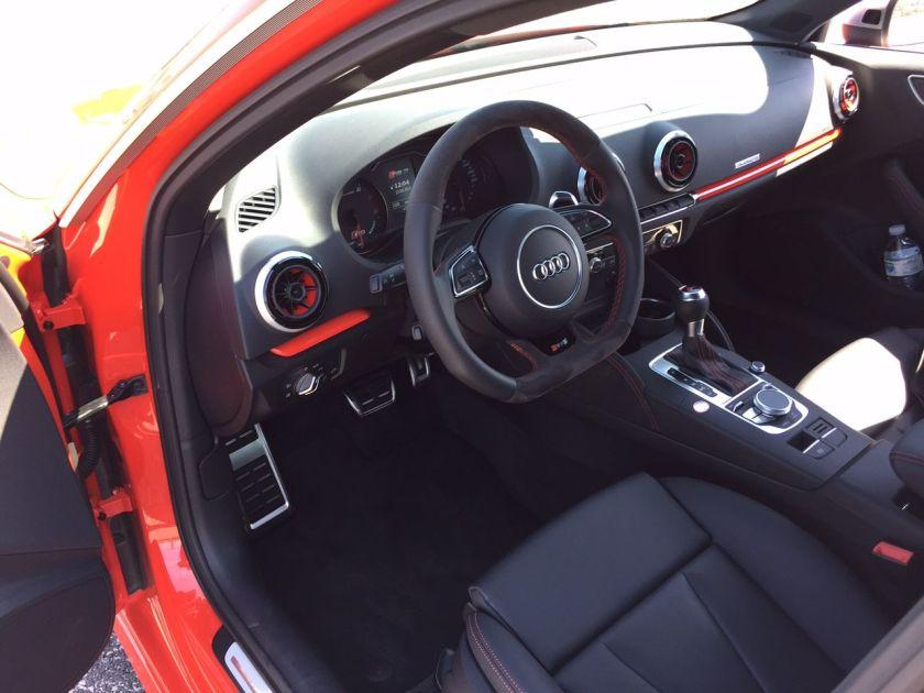 Audi RS3 Fahrerplatz