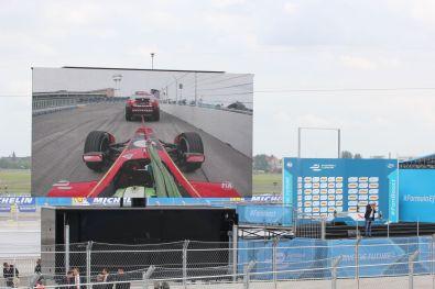 Formula E Berlin 2015 Lucas Di Grassi Abschleppen