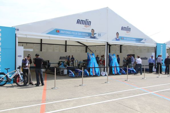Formula E Berlin 2015 Team Amlin Box