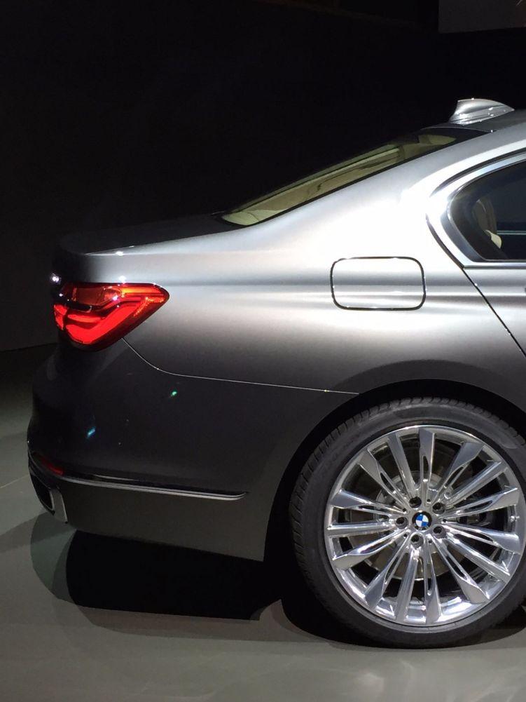 BMW 7er 2015 Heck