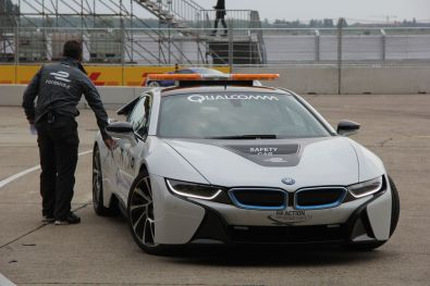 Formula E Safety Car 2015 Berlin Qualcomm Halo Technologie