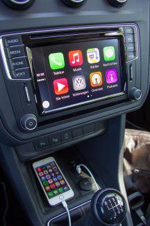 VW Caddy 2015 Apple CarPlay