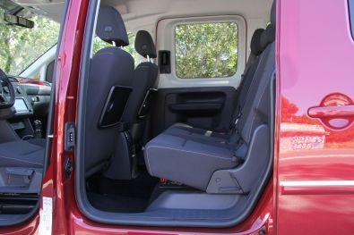VW Caddy 2015 Rücksitze