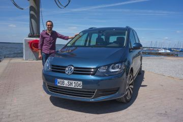 VW Sharan 2015 Autotester Bastian Meger