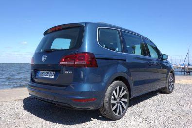 VW Sharan 2015 Heck seitlich