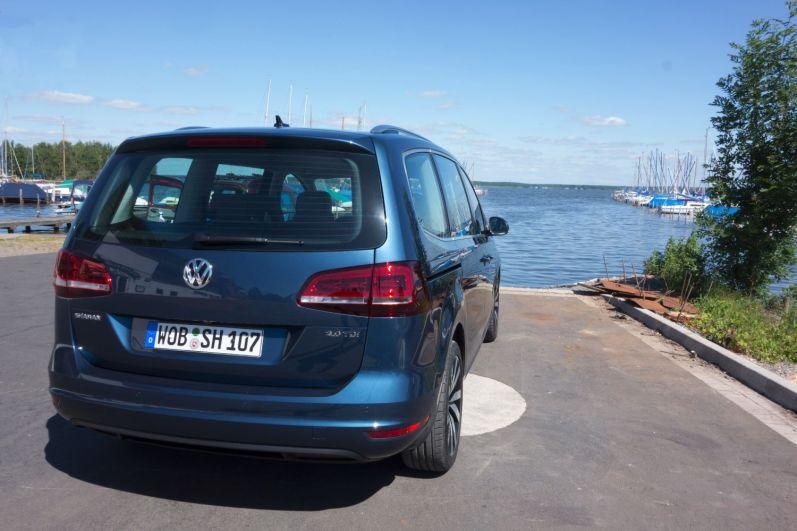 VW Sharan 2015 Heck