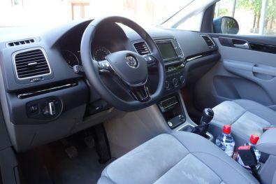 VW Sharan 2015 Innenraum