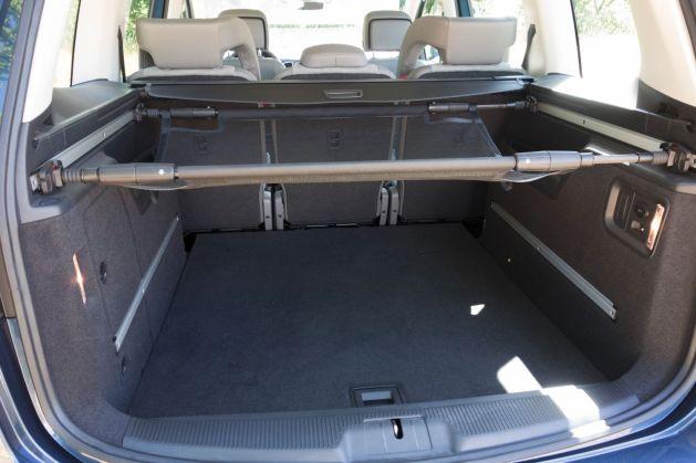 VW Sharan 2015 Kofferraum