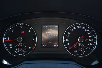 VW Sharan 2015 Kombiinstrument