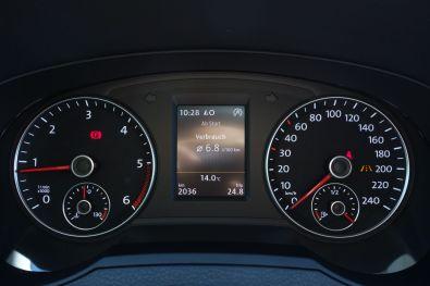 VW Sharan 2015 Kombiinstrument
