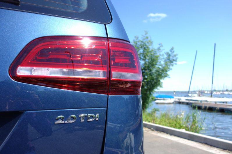 VW Sharan 2015 LED Rückleuchten