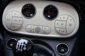Fiat 500 2015 Temperaturregelung