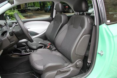 Opel Adam Open Air Sitze